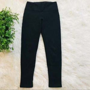 Lululemon Fleece Lined Leggings Black 6